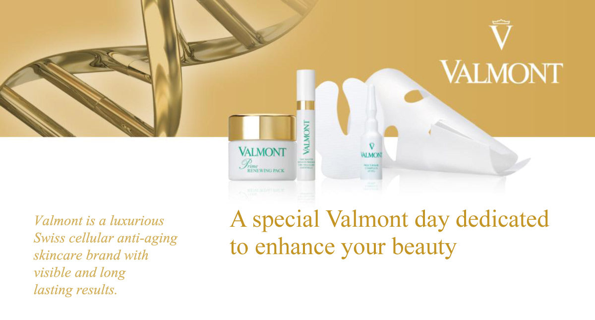 Valmont skincare evaluation, Monday May 20th, 2019