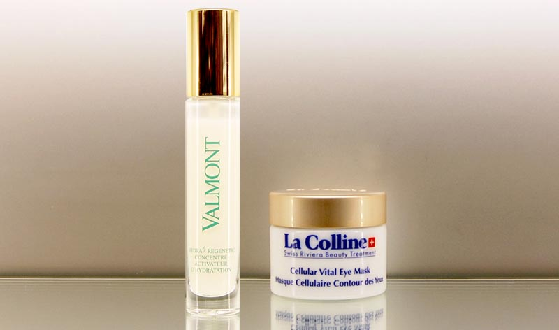 Valmont Hydra 3 Regenetic Serum and the La Colline Cellular Vital Eye Mask