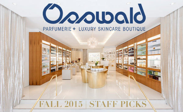 Osswwald NYC Staff Picks, Fall 2015