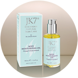 JK7 Body Moisturizing Oil - Orange and Sweet Almond