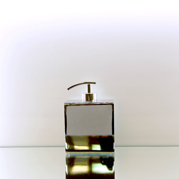 Chrome Lineal Gel Soap Dispenser