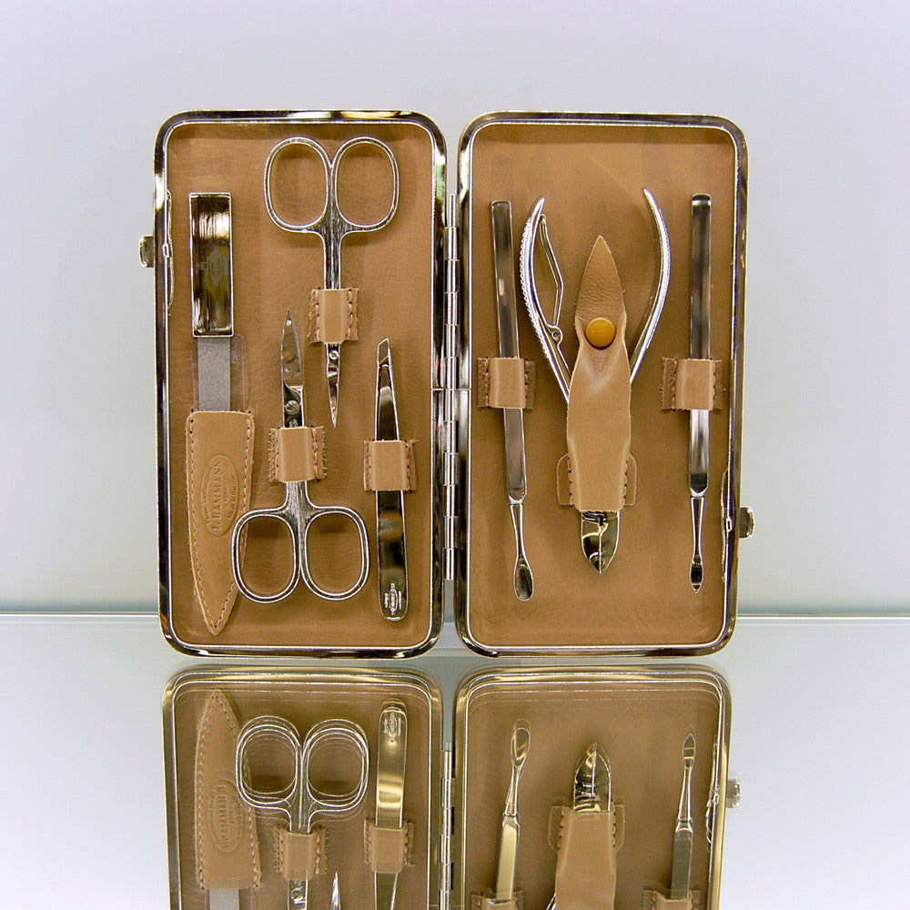 Product photo, Large Framed Manicure 7 Item Set by vendor Hammann