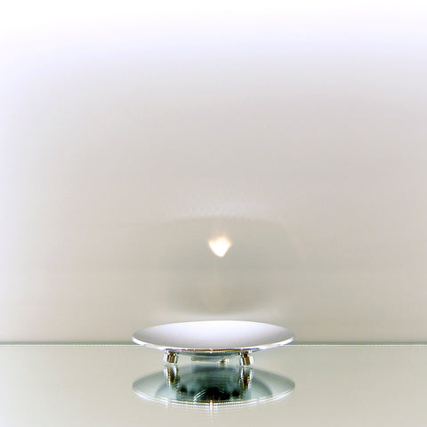 Chrome Round Soap Dish