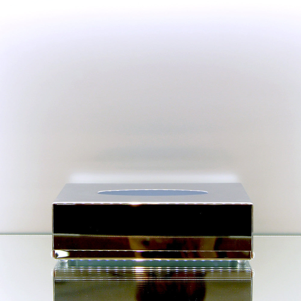 Chrome Tissue Box by vendor Windisch