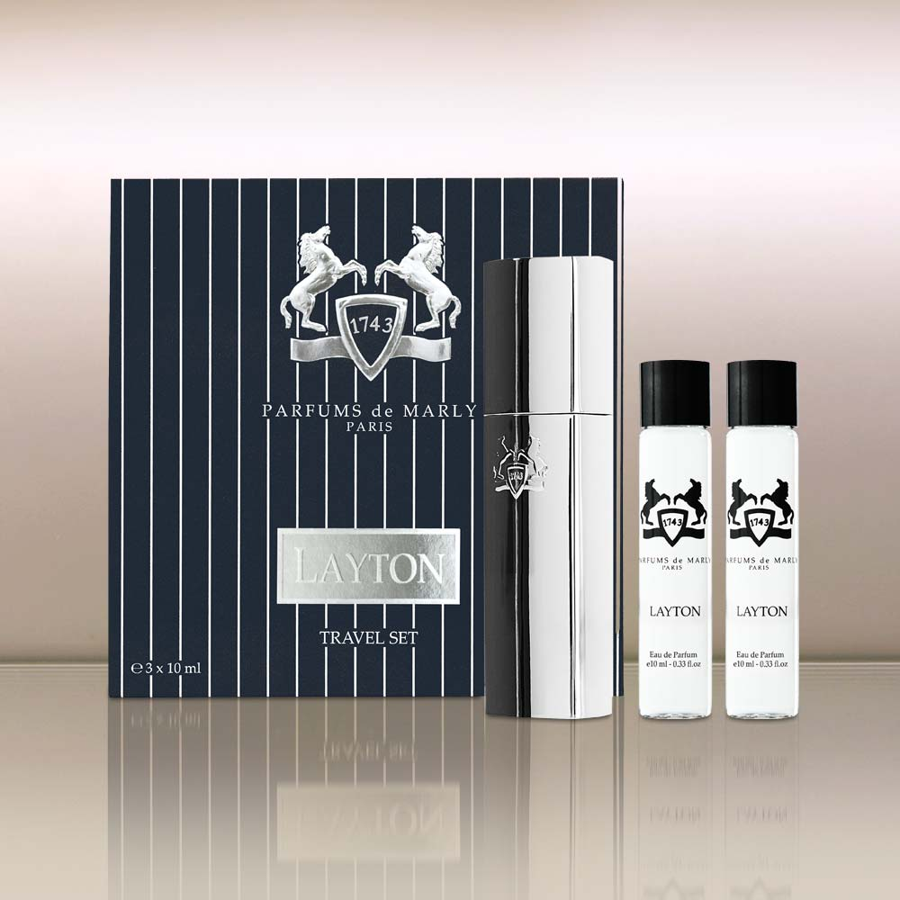 Product photo, Layton Travel Set by vendor Parfums de Marly