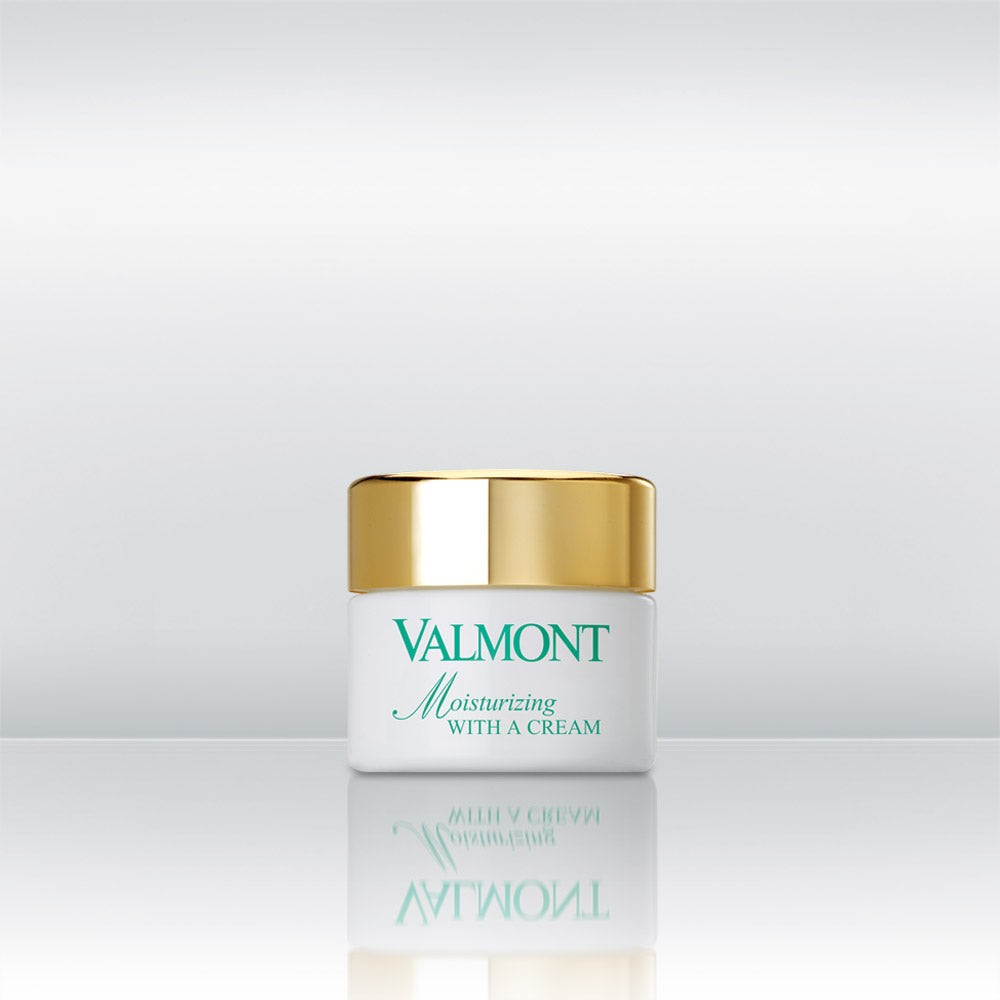 Moisturizing With A Cream by vendor Valmont