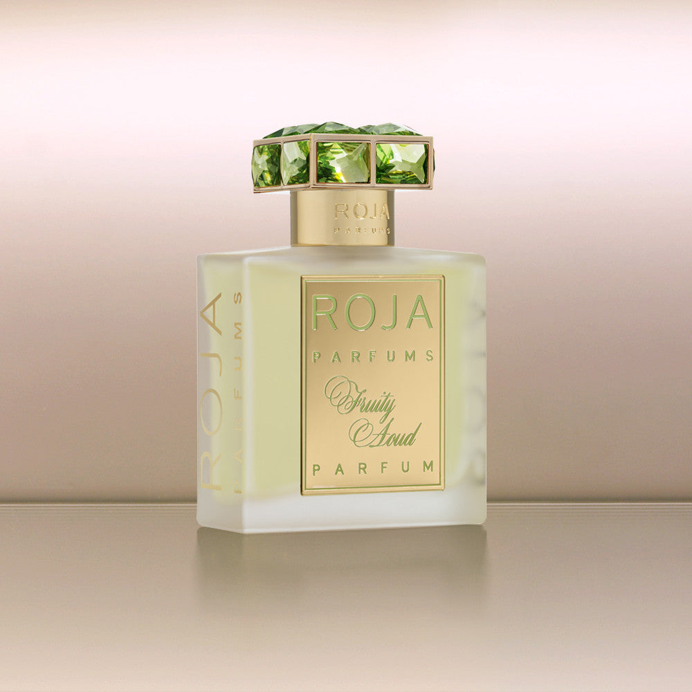 Product photo, Fruity Aoud by vendor Roja Parfums