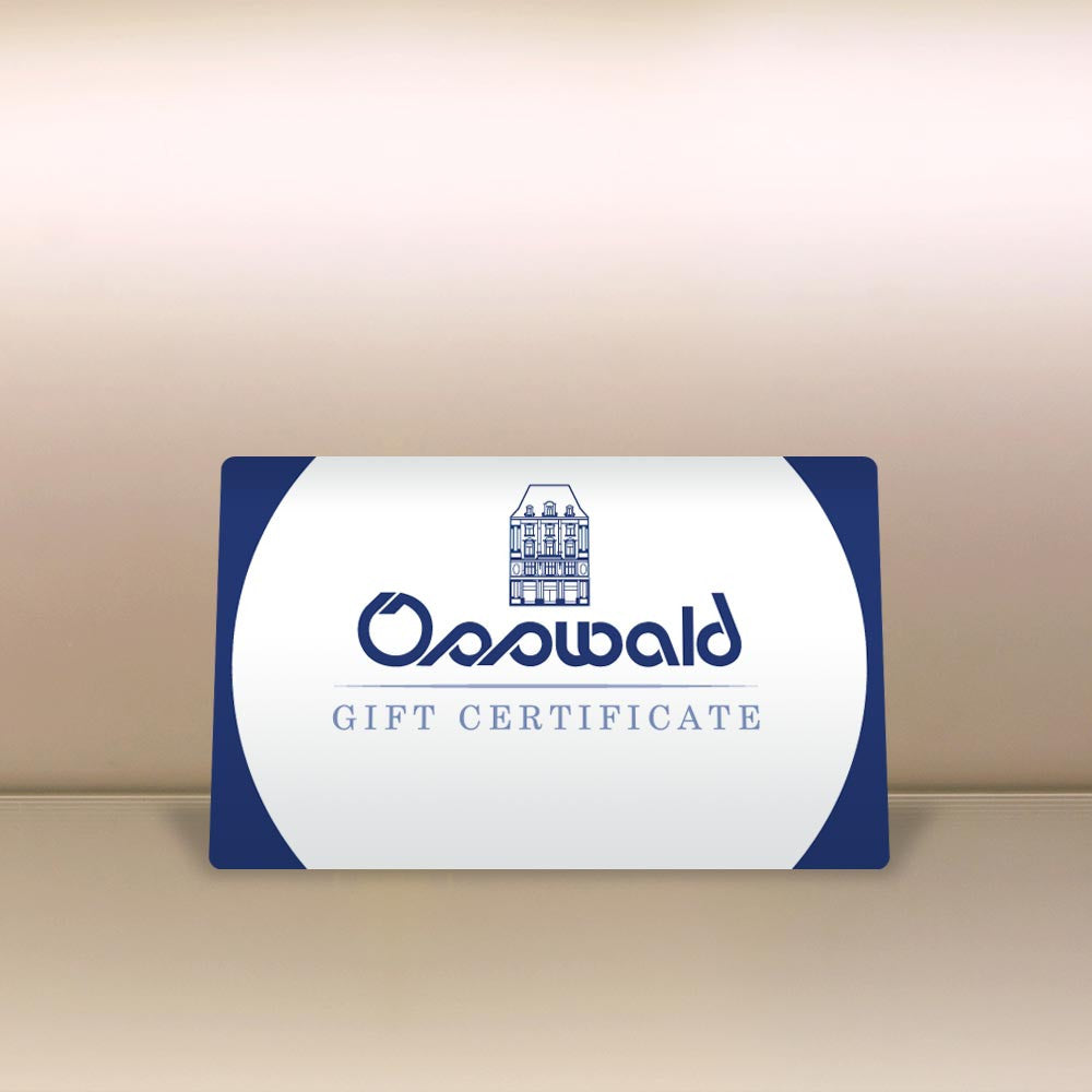Product photo, Gift Card by vendor Osswald