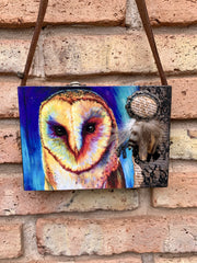 Owl Forest Purse