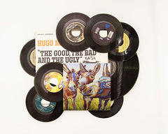 The Good Donkeys ~ Aluminum Print & Vinyl