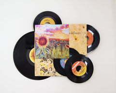 The Wild Sunflowers ~ Aluminum Print & Vinyl