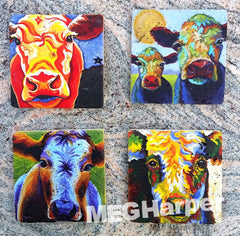 Cowsters ~ Cow Coasters!