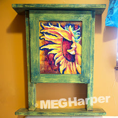 Sunflower Cabinet
