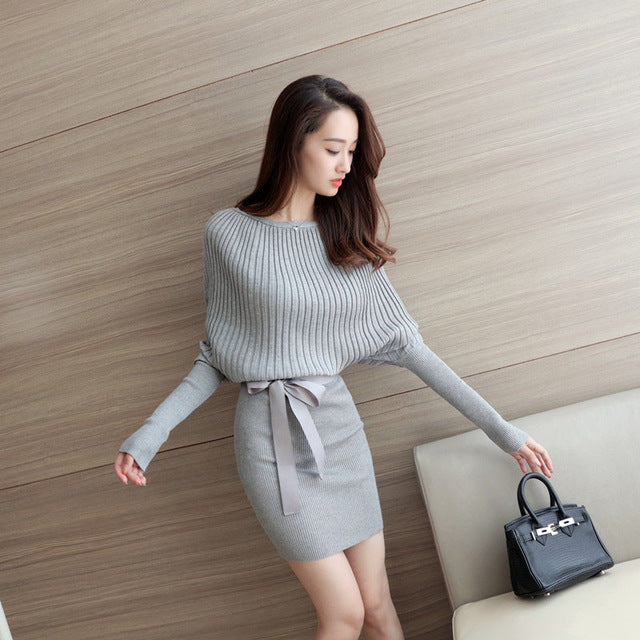 Women Casual Dresses New Autumn Women Dresses Buttock Sexy Bandage Bodycon Dress Long Sleeve - CarGill Sells