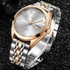 2019 LIGE New Rose Gold Women Watch Business Quartz Watch Ladies Luxury Female Wrist Watch Girl Clock Relogio Feminin