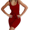 2019 Summer Women Casual Dresses Red Black Sexy Club Party Bodycon Bandage Dresses - CarGill Sells