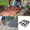 36*36cm DIY Garden Path Mould Maker Paving Concrete Stepping Cement Driveway Patio Stone Mold