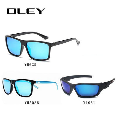 3PCS Combined Sale OLEY High quality polarized men sunglasses  popular combo for 2019 - CarGill Sells