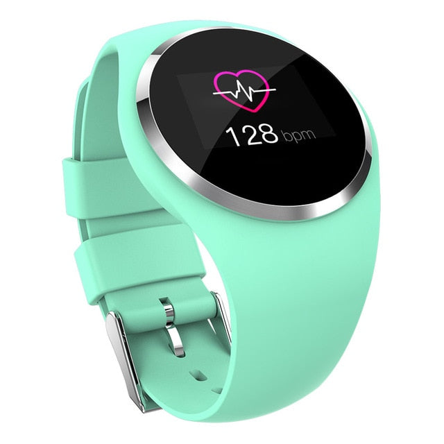 Female Fitness Smart Watch Women Running Reloj Heart Rate Monitor Bluetooth Pedometer Touch Intelligent Sports Watch for Running