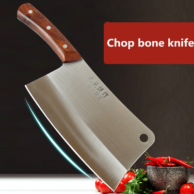 GTJ Forged Stainless Steel Kitchen Knife Chef Multifunctional Cutting Meat Vegetable Slicing Knives