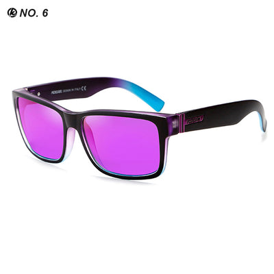 KDEAM Sport Sunglasses Polarized Men Square Sun Glasses Outdoor Women UV400 - CarGill Sells
