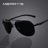 MERRYS Brand Men 100% Polarized Aluminum Alloy Frame Sunglasses Fashion Mens - CarGill Sells