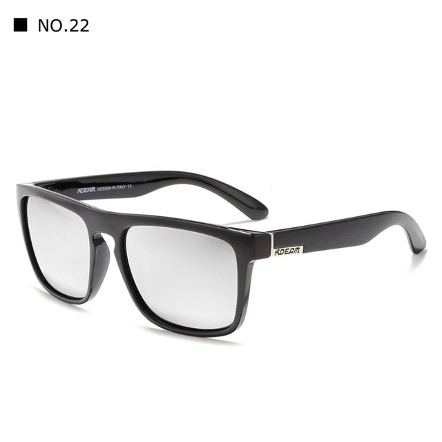 New arrived KDEAM Mirror Polarized Sunglasses Men Square Sport Sun Glasses Women UV gafas - CarGill Sells