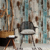 Waterproof  PVC Self Adhesive Vinyl Wood Mura Wallpaper Roll For Living Room Kitchen Kids Room