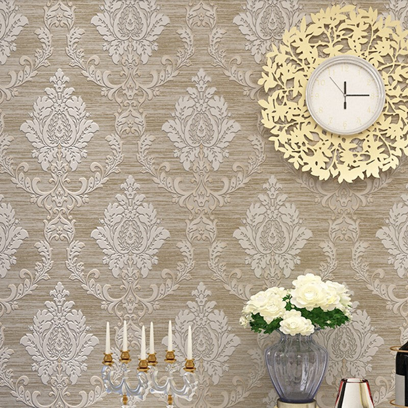 beibehang curve European wallpaper for living room bedroom sofa tv backgroumd of wall paper roll