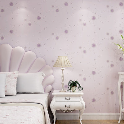 beibehang dandelion cozy children's room papel de parede 3d Wallpaper for walls 3d room wallpaper