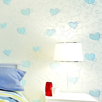3D mural paper flocking wall paper roll papel de parede 3d wallpaper for walls 3 d