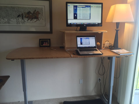 Standee Flex Electronic Standing Desk / Sit-Stand Desk