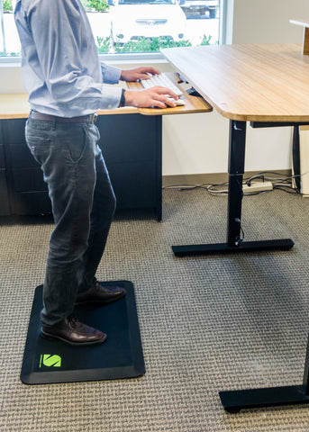 Standee Anti Fatigue Mat at Standing Desk