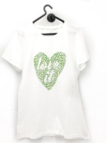 Love it - Spring Green Basic T