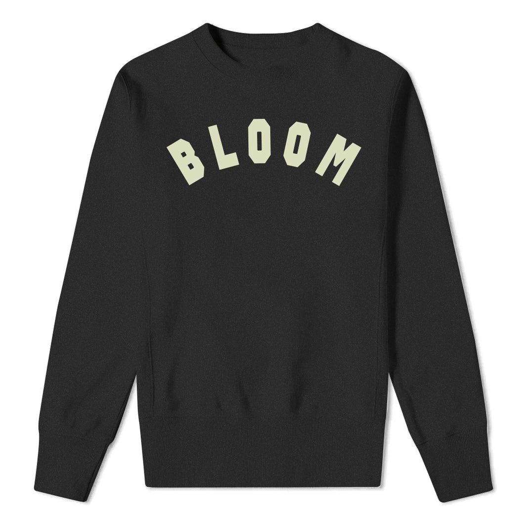 Bloom Black Sweatshirt
