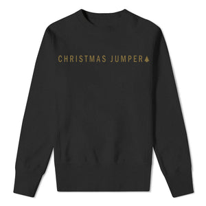 Christmas Jumper - Black Sweatshirt