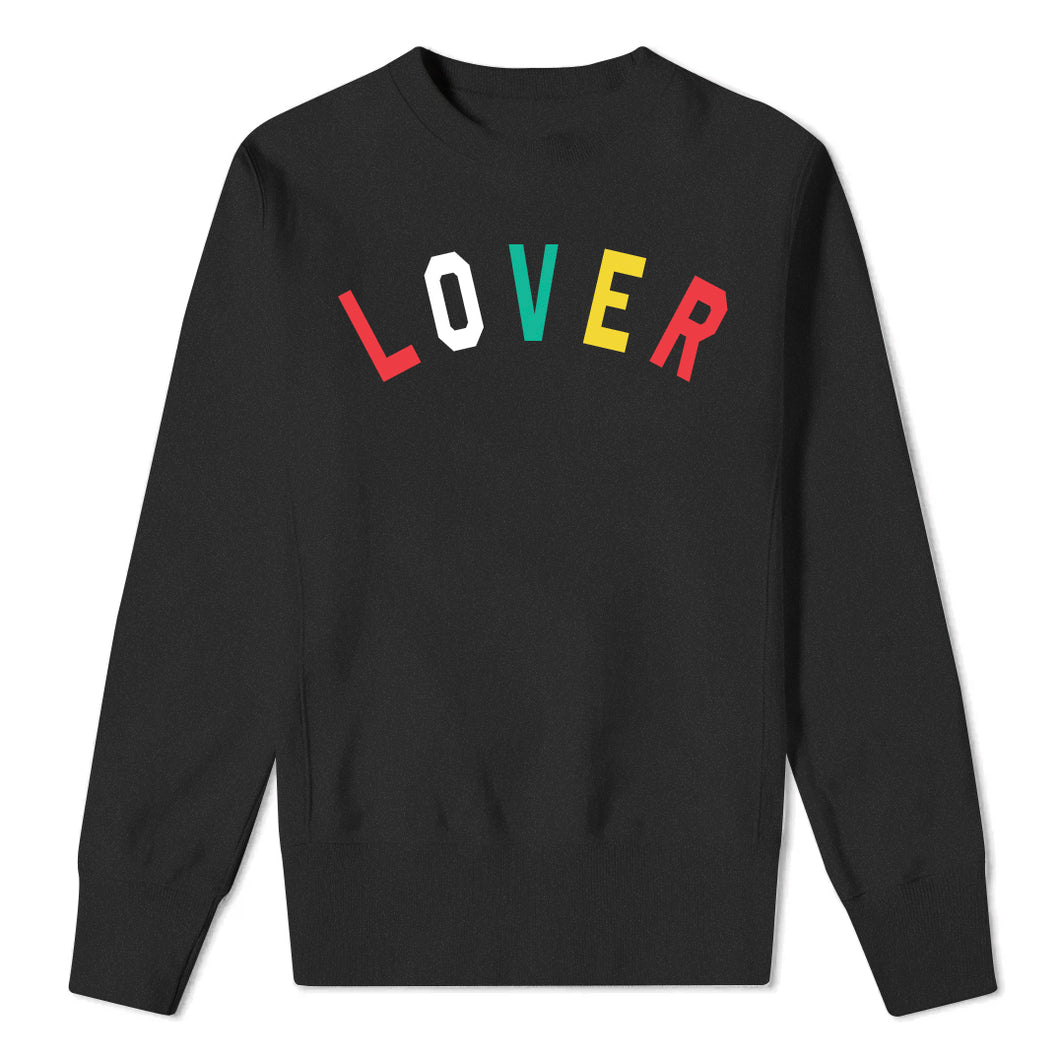 LOVER - Black Sweatshirt