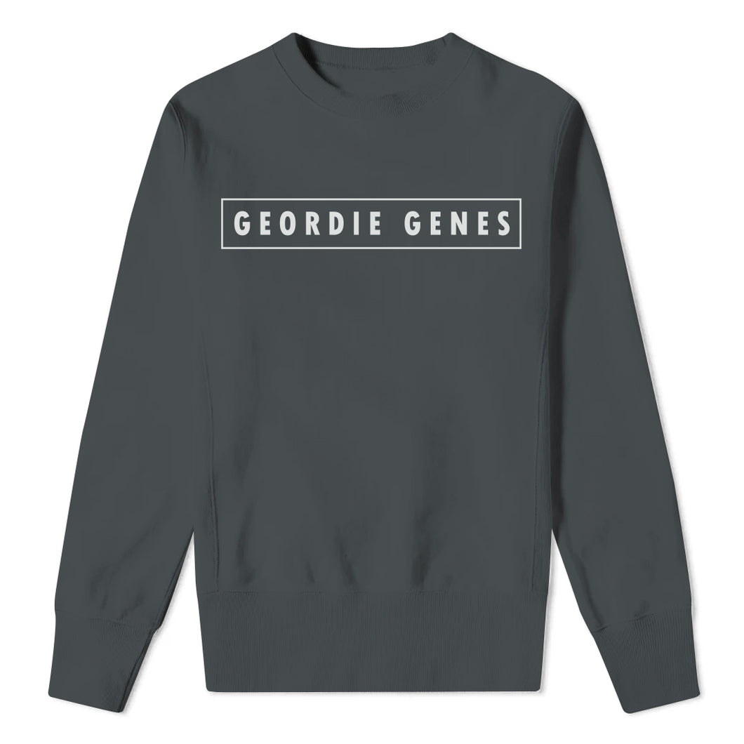 Geordie Genes - Mens Charcoal Sweatshirt