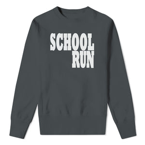 Mens School Run - Grey Sweat