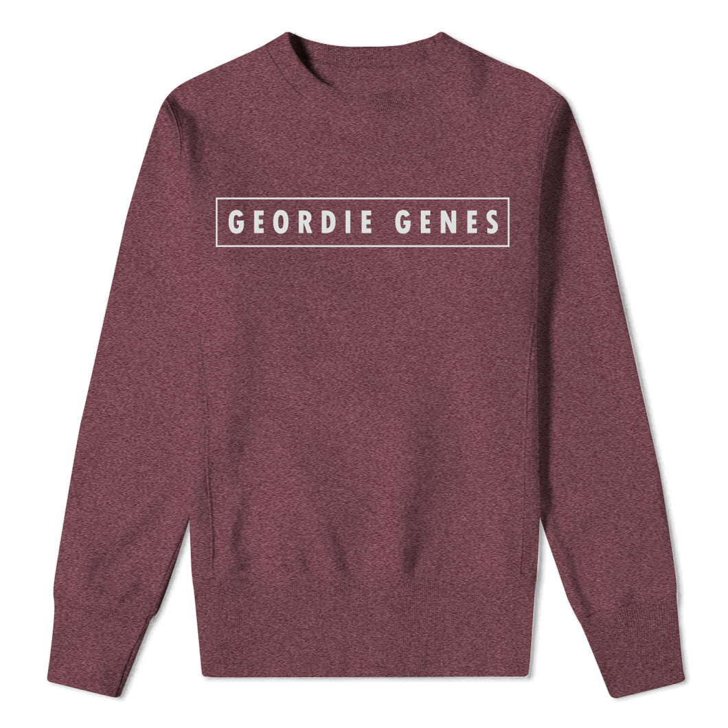 Geordie Genes - Mens Heather Sweatshirt