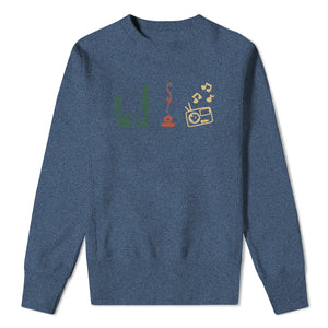 Weekender Sweatshirt - Mens denim blue