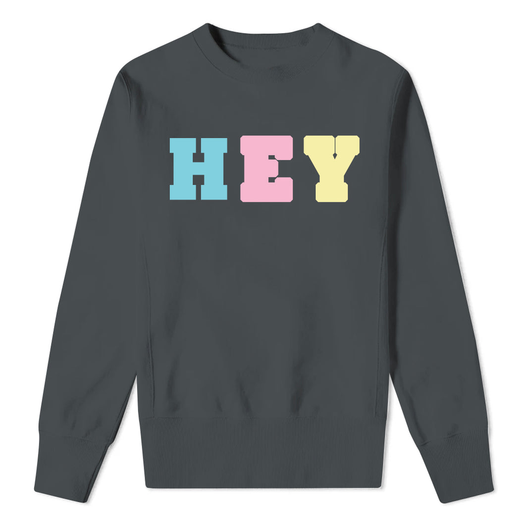 HEY - Kids Charcoal Sweatshirt