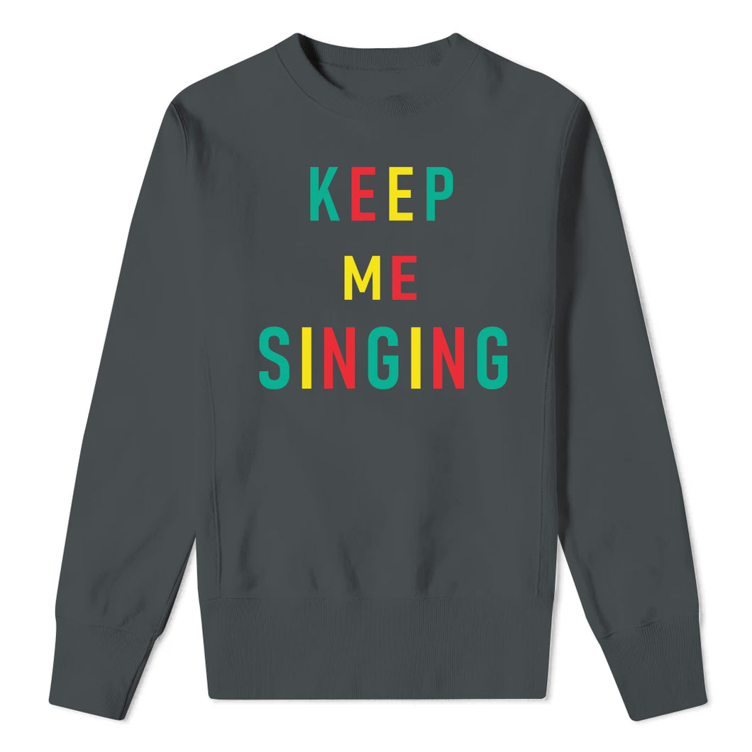 KEEP ME SINGING - Charcoal Kids Sweatshirt