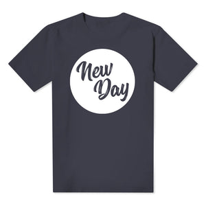 New Day  - Kids Navy Tee