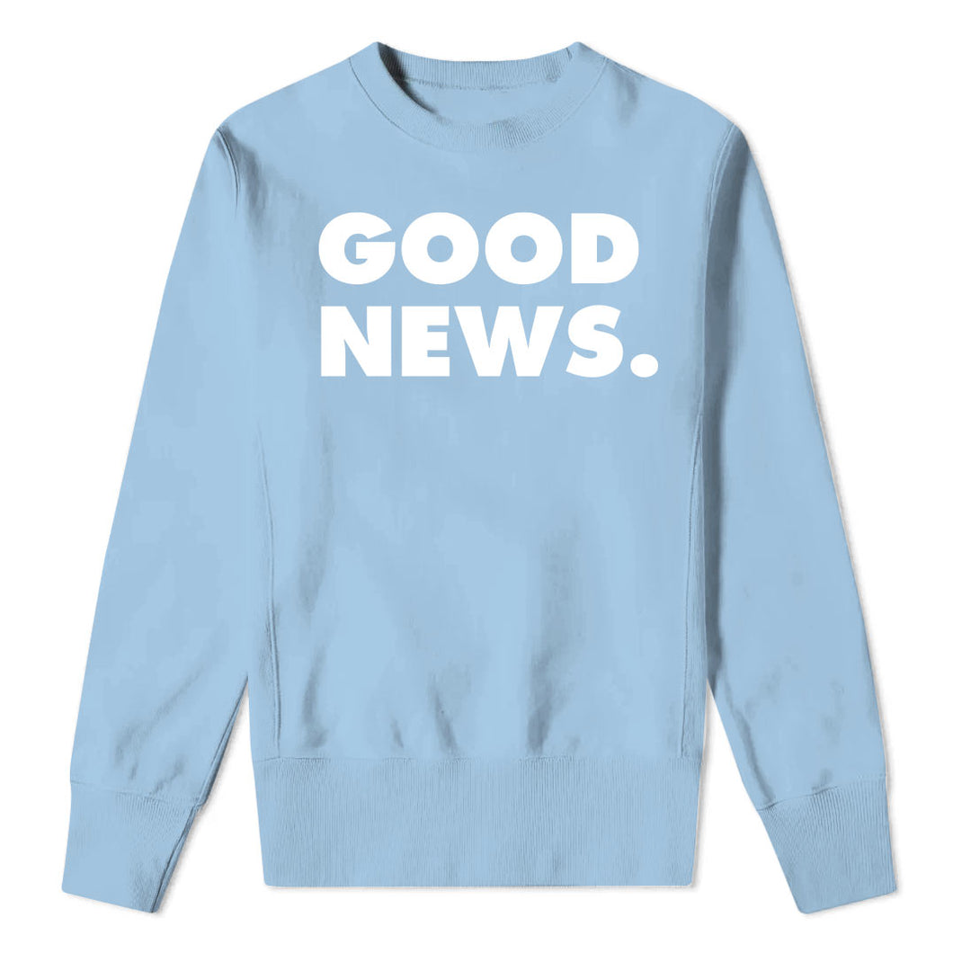 GOOD NEWS - Kids Blue Sweatshirt