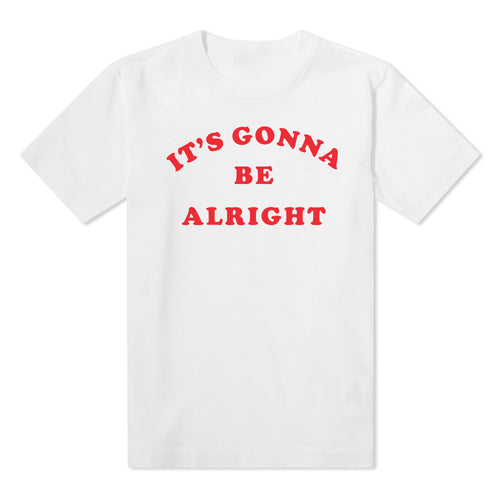 'It's Gonna Be Alright' - Kids White Tee