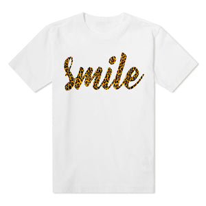 SMILE - Kids white T