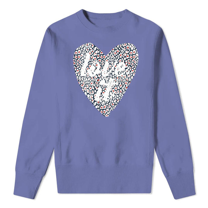 LOVE IT Spring Blue - Violet Sweatshirt