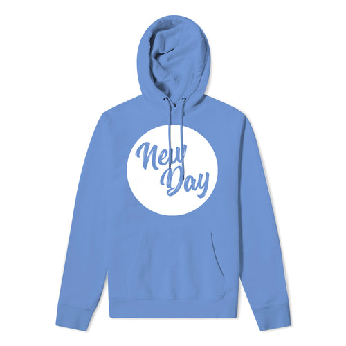 New Day Hoodie - Cornflower blue