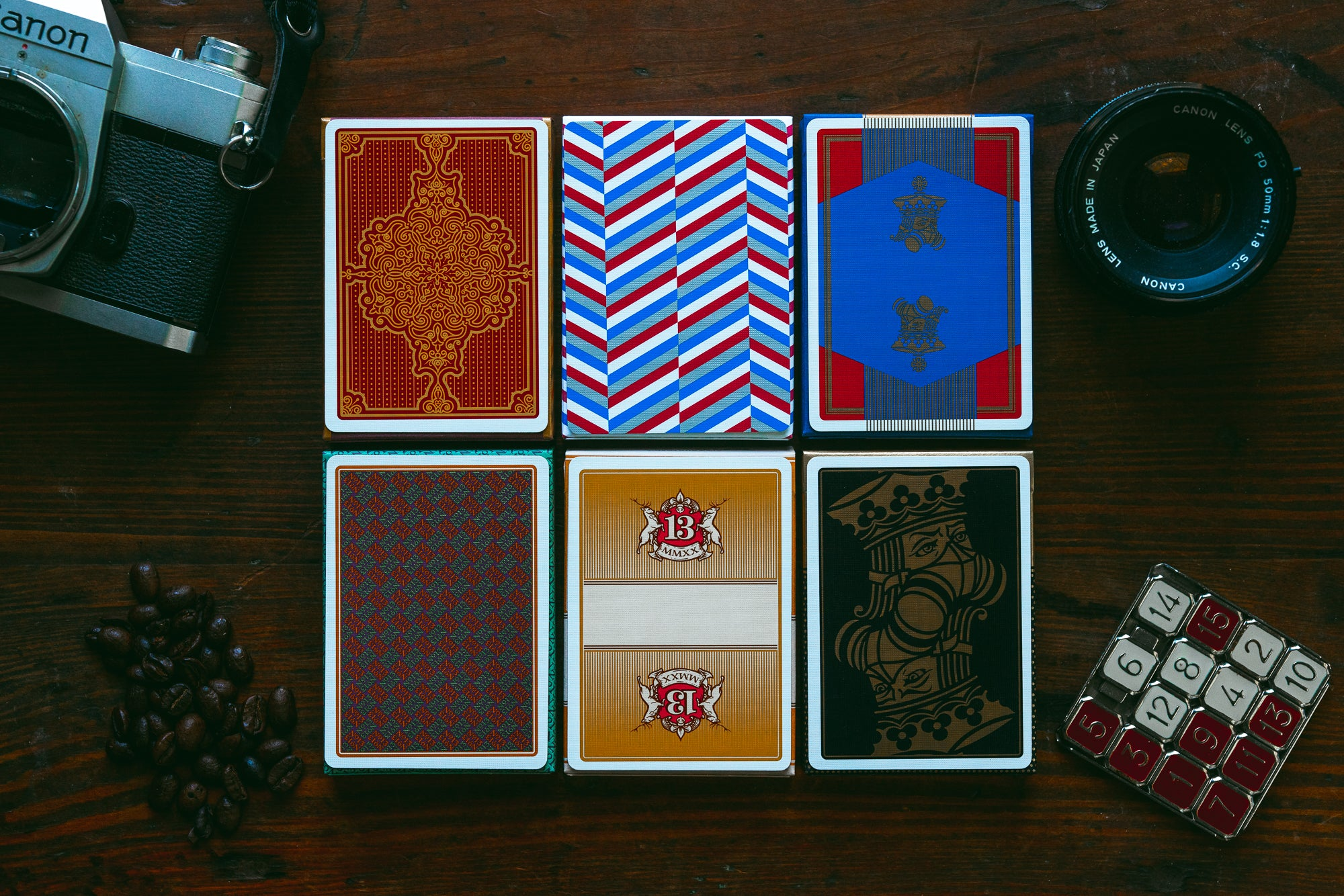 Table Players Collector's Set - Six Pack